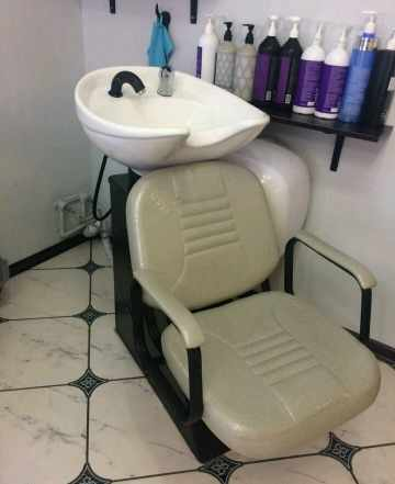 Парикмахерское оборудование. Кресло +мойка