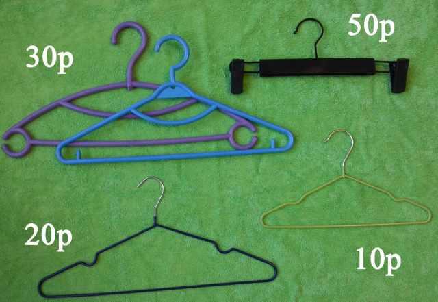 Плечики для одежды и брюк