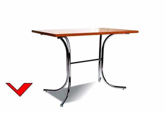 Стол паук кр-06 1100х700 мм для столовых и кафе