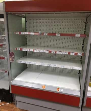 Горка холодильная Cryspi ALT 1350 Горка холодильна