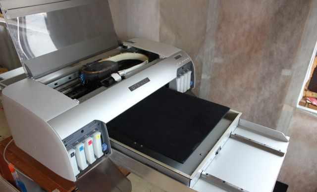 Принтер DTX-400/800 для печати на футболках