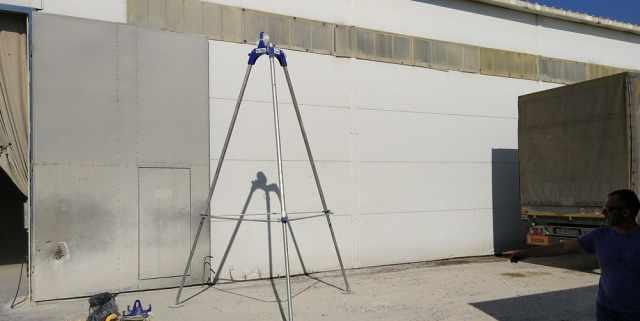 М-tec растариватель бигбегов с тельфером 1200кг