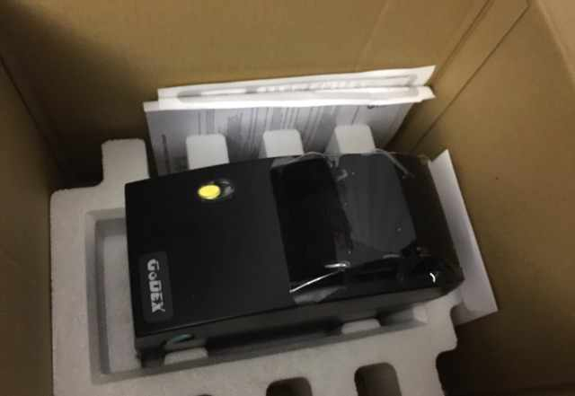 Весы Штрих-Принт Ф1, принтер печати этикеток godex