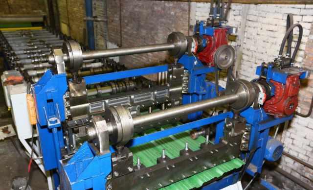 Линия для производства металлочерепици и профлиста