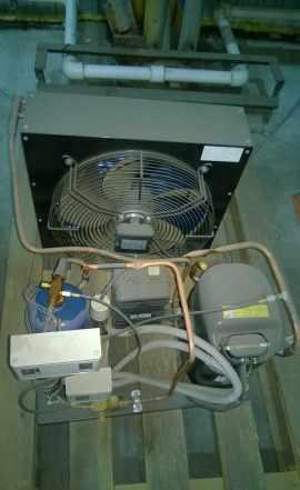 Холодильное оборудование для склада и камер б/у