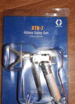 комплект пистолет graco XTR-7, сопла, рукав