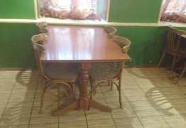 Столы и стулья для кафе, бара, ресторана Б/у