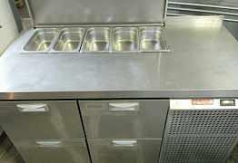 Холодильный стол hicold SL1-22GN (1/3) 140х70 бу