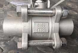 Шаровый кран нержавеющий под приварку Ду20 Ру63 ст