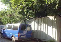 Контейнер переделанный в вагон-бытовку