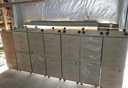 Офисные тумбочки и подставка для системного блока
