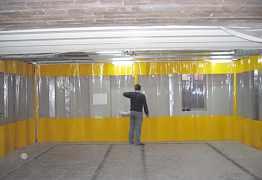 Шторы для складов и производств