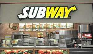 Полный комплект оборудования ресторана subway