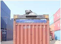 40 opentop морской контейнер