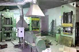 Оборудование производства полимер песчаных люков