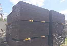 Фанера ламинированная 1,22 х 2,44 толщина 18 мм
