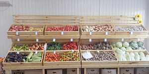 Прилавки для овошей