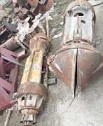 Буровой грейфер d1200 и d700
