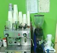 Кофемашина wega одногруппная, кофемолка wega