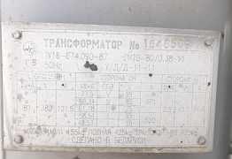 Ктпто-80 тмо станция прогрева бетона трансформато