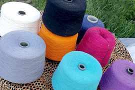 Пряжа для машинного вязания