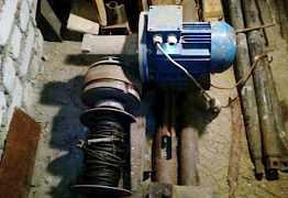Переносная буровая ударно-канатная установка