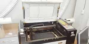 Станок лазерный CO2 Kamach53 500x300 мм 60 Вт бу