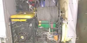 Каналопромывочная установка,гидродинамческая чистк