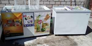 Холодильные и морозильные ветрины