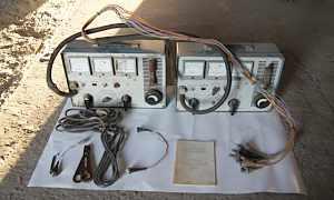 Прибор для проверки электрооборудования модельэ214