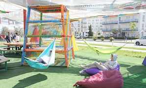 Детские веревочные парки на заказ