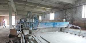 Автоматический одноголовочный полировальный станок