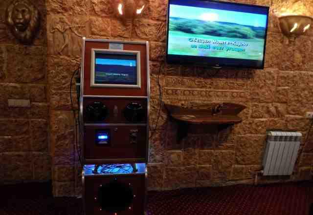 Музыкальный автомат с караоке