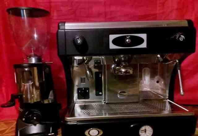 Кофейное оборудование (Кофемашина + кофемолка)