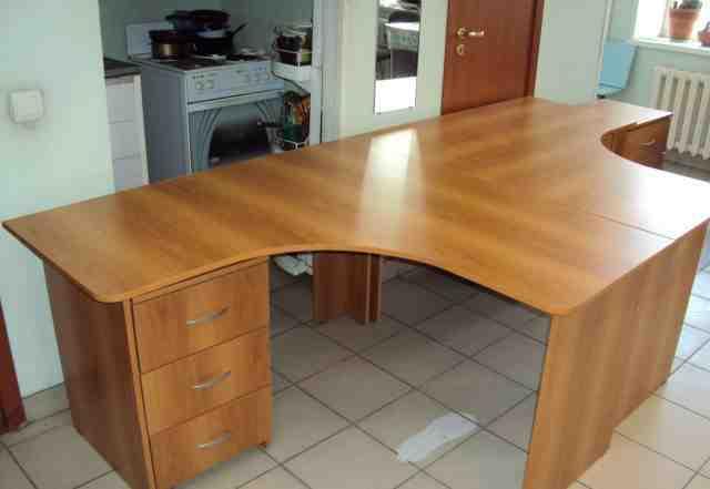 Стол шкаф тумба офисный комплект