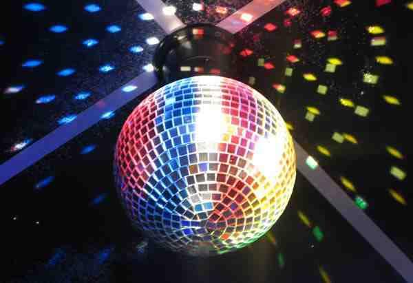 Зеркальный шар для дискотеки с лазерным проектором