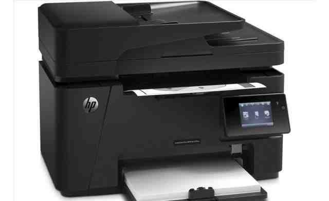 Принтер нр лазер джет про мфп 127