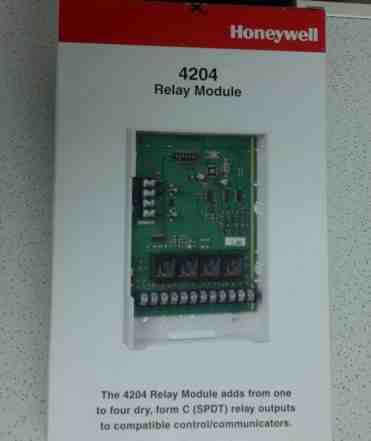 Релейный модуль Honeywell 4204