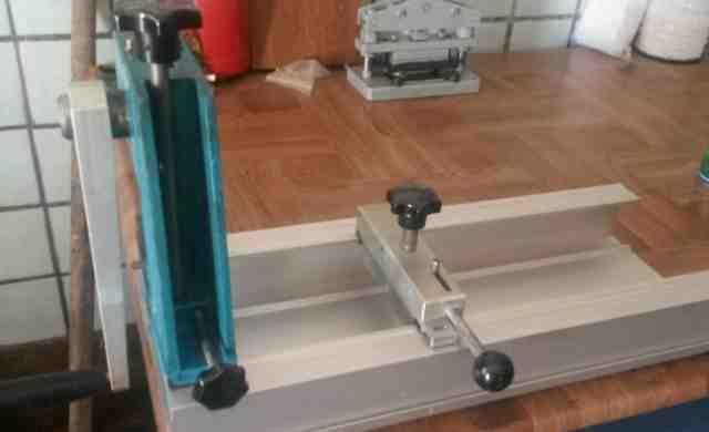 Пресс и станок для изготовления жалюзи