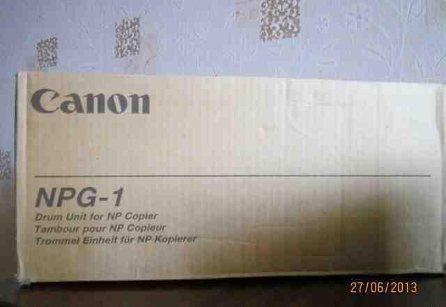 Новый картридж Canon NPG 1
