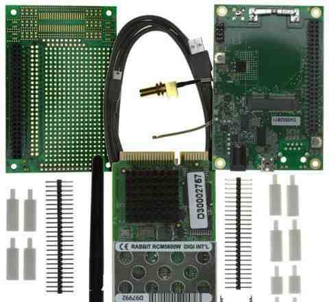 Отладочный комплект RCM5600W