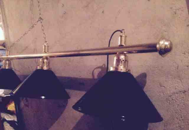 Лампа бильярдная