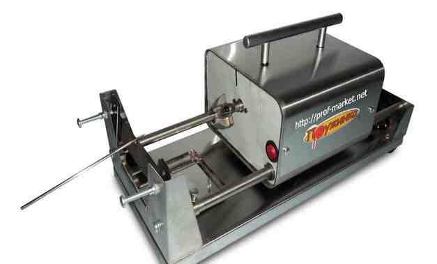 Аппарат для спиральных чипсов