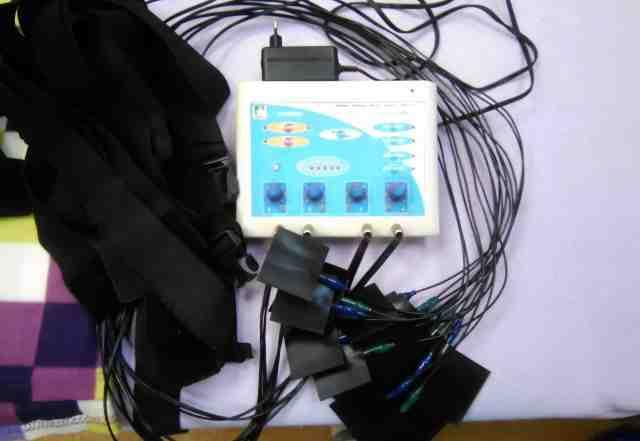 Миостимулятор аппарат для массажа тела и лица