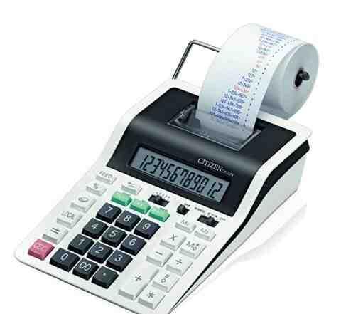 Печатающий калькулятор citizen