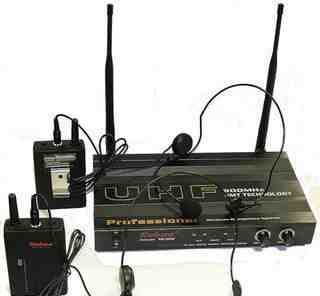 Радио система Enbao микрофон + гарнитура