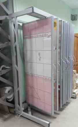 Стенд экспозитор для керамической плитки-Тюльпан24