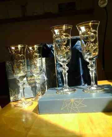 Богемское стекло и хрусталь из Чехии, ручная работ