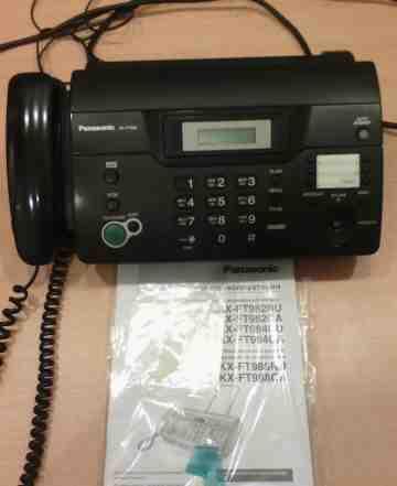 Факс Panasonic + бумага для факса