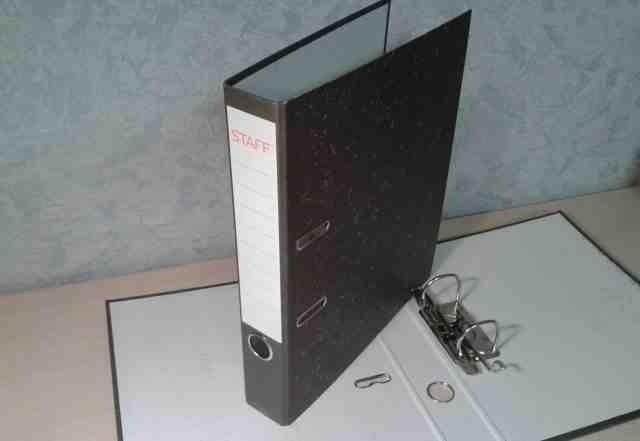 Папки - регистраторы, А4, 50 мм (новые)
